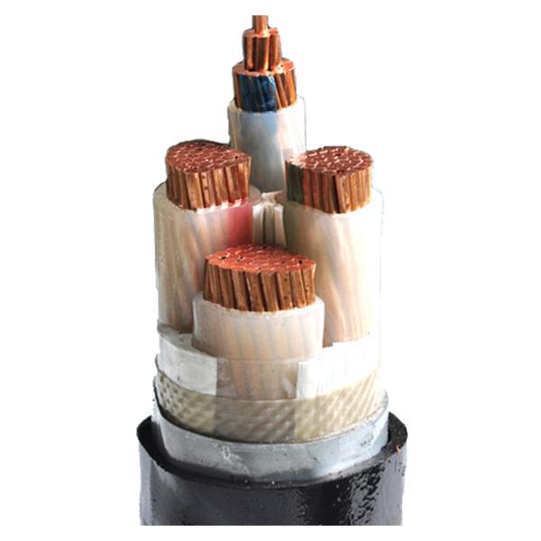 VV22 钢带铠装铜芯电力电缆