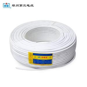铜芯聚氯乙烯绝缘聚氯乙烯护套扁电线