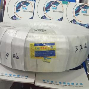 郑州三厂郑星橡套软电缆YZ3X6mm
