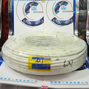 苏州控制电缆RVV6X1